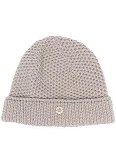 Loro Piana purl-knit cashmere beanie