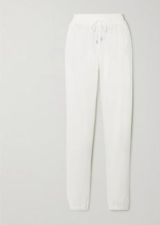 Loro Piana Quiberon Silk And Cotton-blend Track Pants