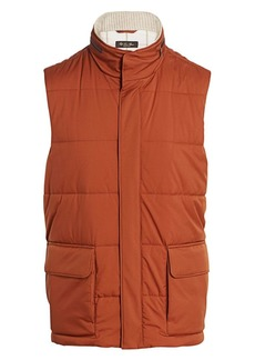 Loro Piana Quilted Voyager Puffer Vest