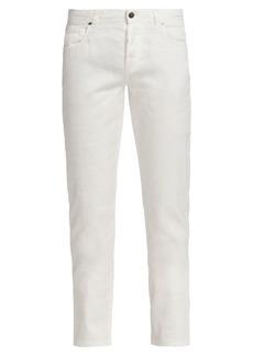 Loro Piana Regular-Fit Five-Pocket Linen Blend Pants
