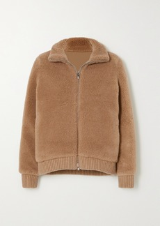 Loro Piana Reversible Cashmere And Silk-blend Bomber Jacket