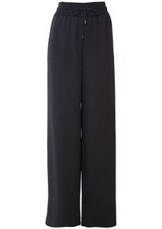 Loro Piana Silk Knit Cady Wide Leg Pants