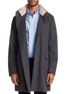 Loro Piana Single-Breasted Cashmere Coat