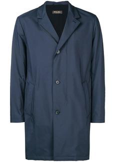 Loro Piana straight fit coat