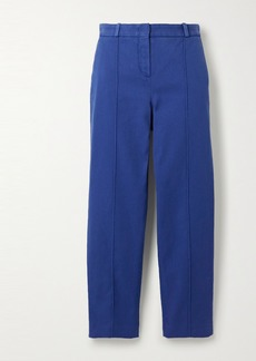 Loro Piana Stretch-cotton Twill Slim-leg Pants