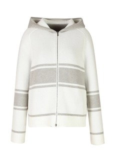 Loro Piana Thompson Reversible Cashmere Hooded Bomber