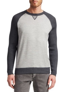 Loro Piana Willis Cashmere-Blend Raglan Sweater