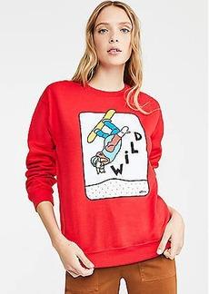 Lou & Grey Alimo Wild Sweatshirt