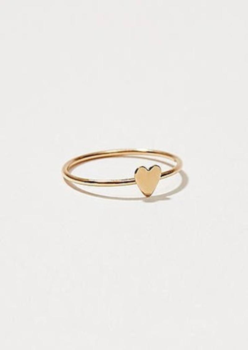 Lou & Grey Baleen Heart Ring