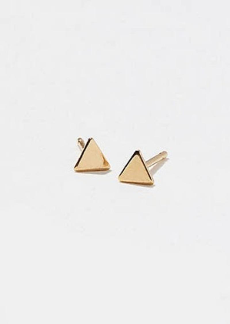 Lou & Grey Baleen Teeny Tiny Triangle Studs
