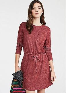 Lou & Grey Brushed Drawstring Pocket Dress