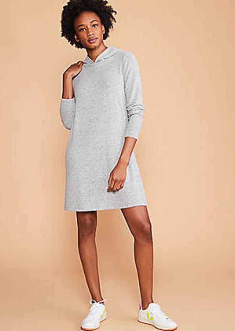 Brushed Hoodie Dress