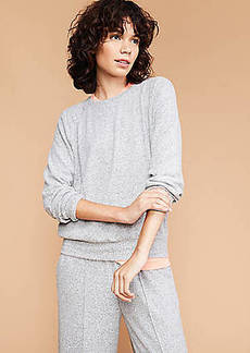 Lou & Grey Brushed Sweatshirt