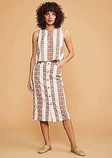 Lou & Grey Hacienda Button Midi Skirt