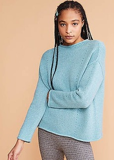 Lou & Grey Cashmere Pointelle Sweater