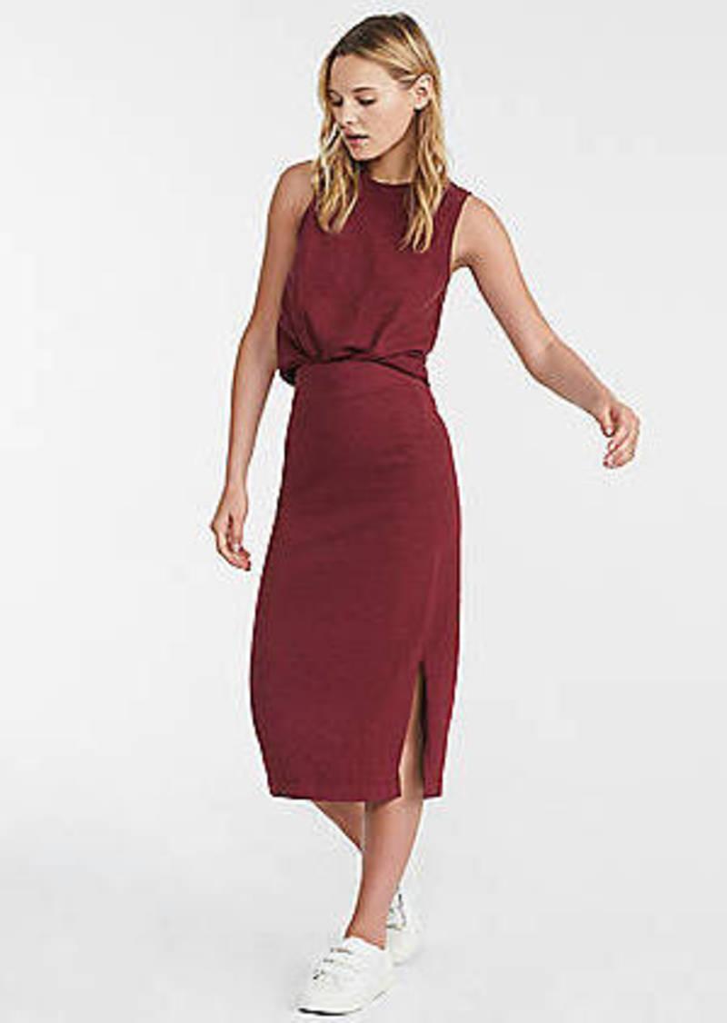 Cozy Jersey Midi Skirt