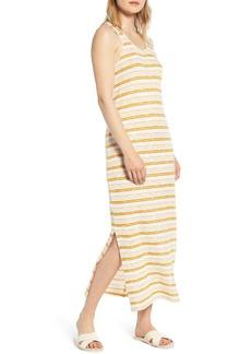 Lou & Grey Crochet Stripe Midi Dress