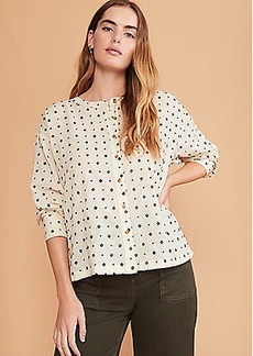 Lou & Grey Diamond Dot Shirt