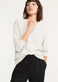 Lou & Grey Tweedy Sweatshirt