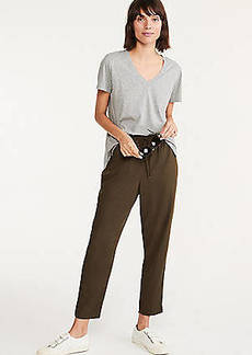 Lou & Grey Fluid Twill Drawstring Pants