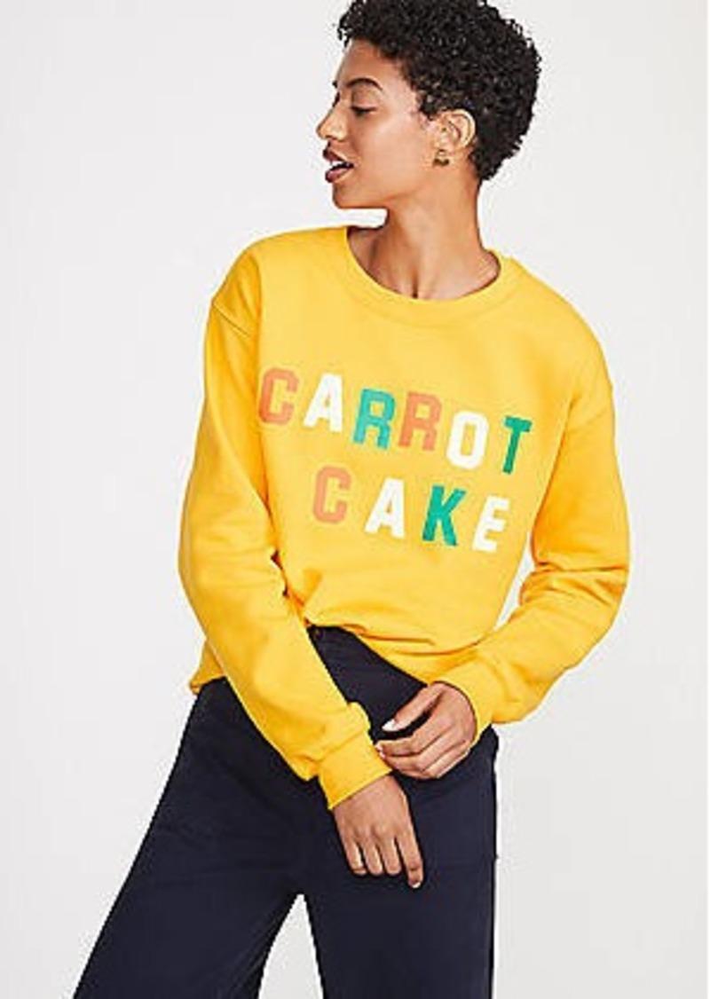 45deaefed228e Lou   Grey Katie Kimmel Carrot Cake Sweatshirt