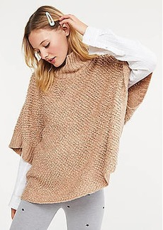 Lou & Grey Loopy Poncho Sweater