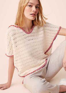 Lou & Grey Boho Hoodie Sweater
