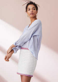 Lou & Grey Boho Sweater Skirt
