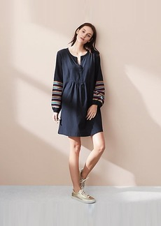 Lou & Grey Brightside Poet Pop On Shirtdress