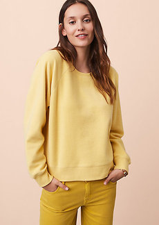 Lou & Grey Brushed Twill Sweatshirt