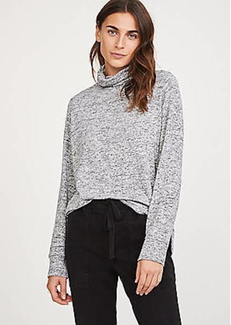 303fbfd7b58a8b Lou & Grey Lou & Grey Brushmarl Cowl Top   Casual Shirts