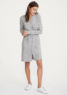 LOFT Lou & Grey Brushmarl Shirtdress