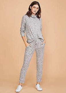 LOFT Lou & Grey Brushmarl Upstate Sweatpants
