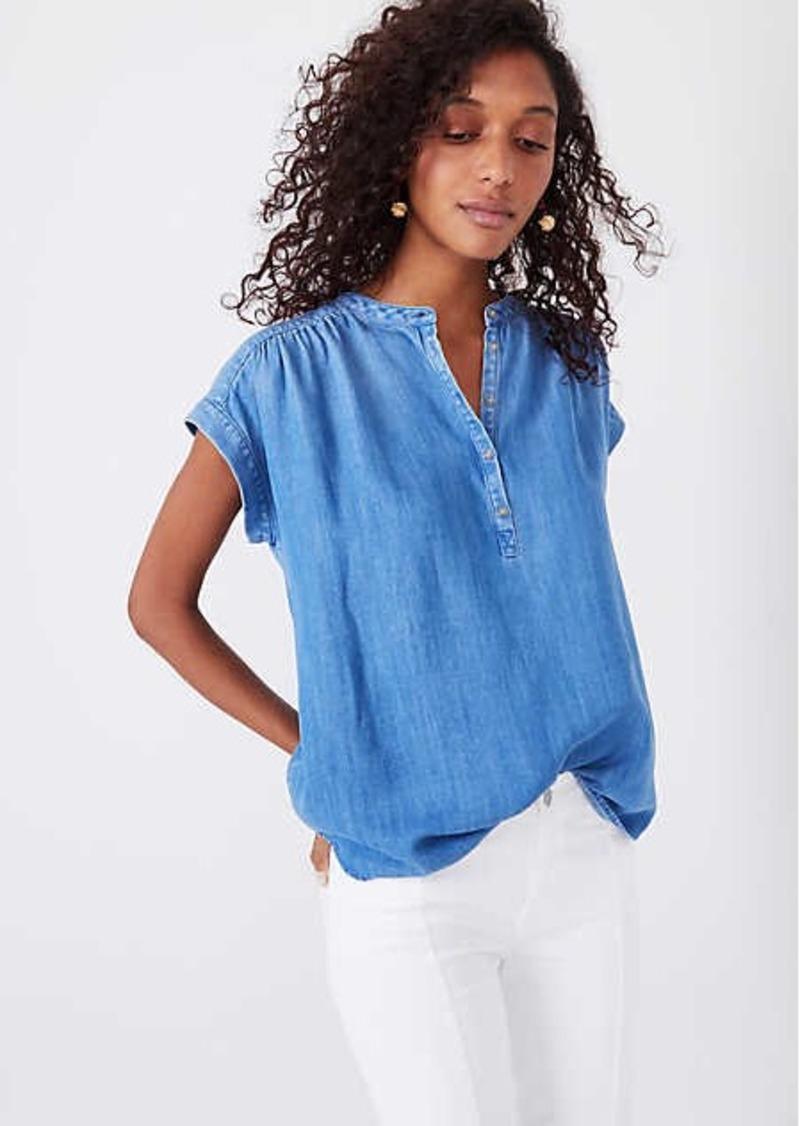 8eb35645 Lou & Grey Lou & Grey Chambray Tunic Shirt | Casual Shirts