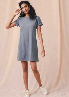 Lou & Grey Cuffed Tee Dress