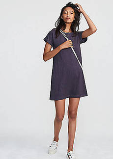 LOFT Lou & Grey Cuffed Tee Dress