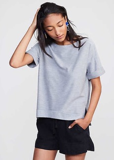 LOFT Lou & Grey Cuffed Terry Tee