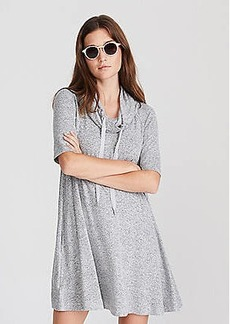 LOFT Lou & Grey Drawstring Cowl Dress