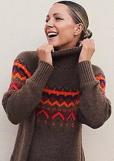 Lou & Grey Fair Isle Sweater