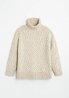 Lou & Grey Flecked Turtleneck Tunic Sweater