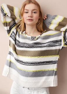 LOFT Lou & Grey Fringe Time Sweater
