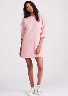 Lou & Grey Garment Dye Cuffed Tee Dress