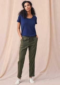 LOFT Lou & Grey Garment Dye Softstretch Linen Pants