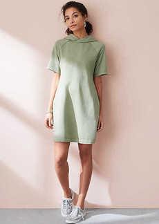 LOFT Lou & Grey Garment Dye Hoodie Dress