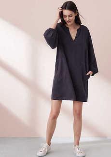 Lou & Grey Garment Dye Poet Pop On Shirtdress