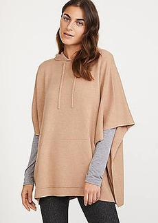 LOFT Lou & Grey Hooded Poncho Sweater