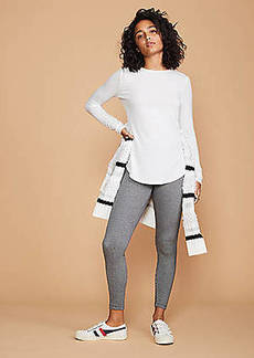 LOFT Lou & Grey Houndstooth Ponte Leggings