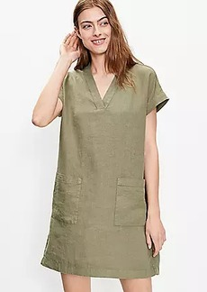 Lou & Grey Linen Pocket Tunic Dress
