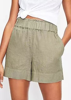 Lou & Grey Linen Pull On Shorts