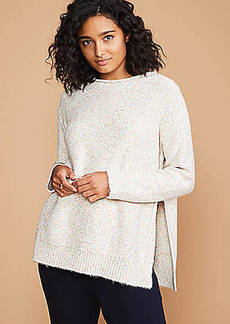 LOFT Lou & Grey Marled Roll Neck Sweater